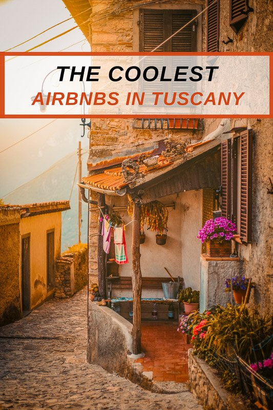 Top Airbnb vacation rentals in Tuscany Italy