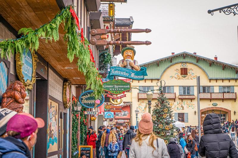 Bavarian vibes in the heart of Leavenworth, Washington