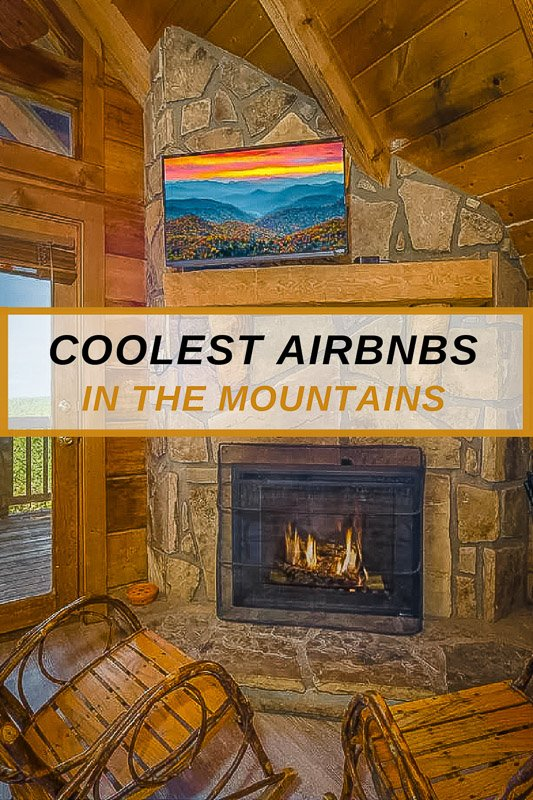 Most unique mountain Airbnb cabins in the USA