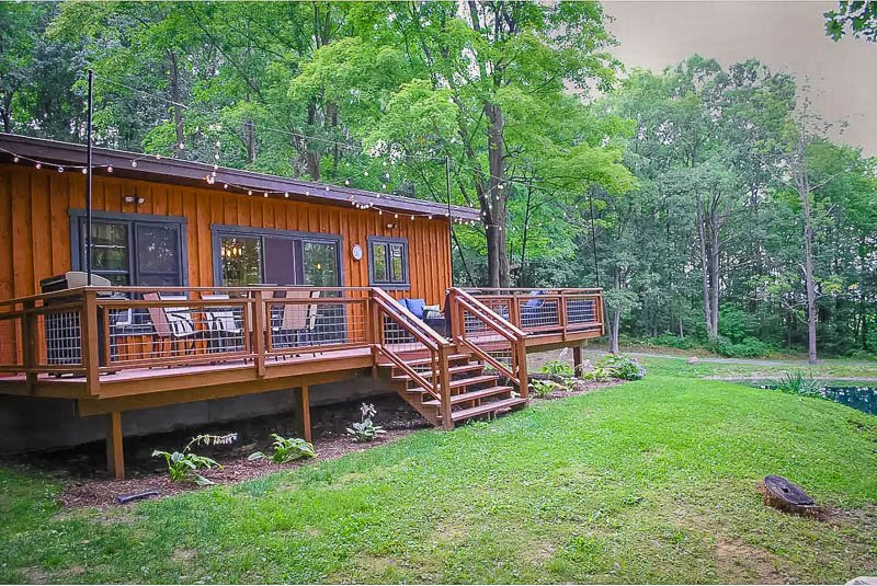 Unique cabin for rent in the Finger Lakes