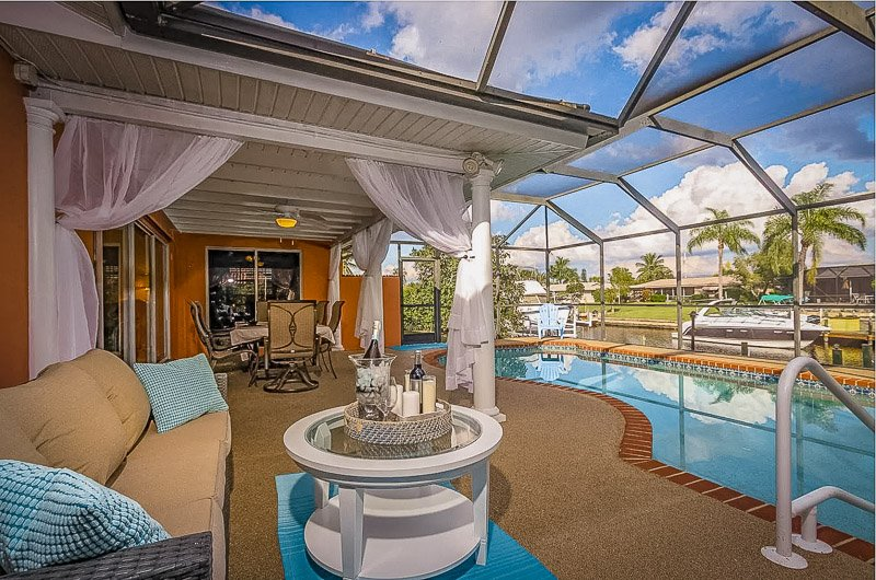 This home for rent in Cape Coral is among the best Florida vacation rentals