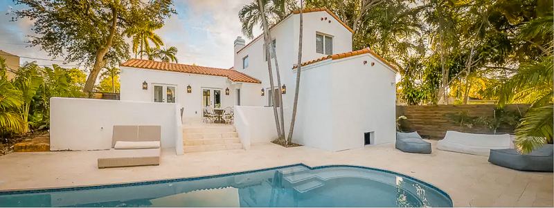 This Miami luxury vacation rental is truly one of a kind