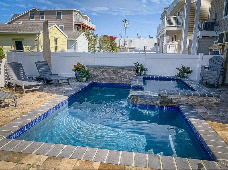 This Airbnb in New Jersey has its own private pool
