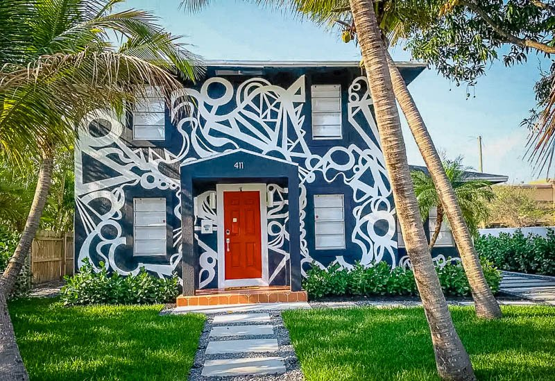 This Florida home for rent is truly unique and picturesque