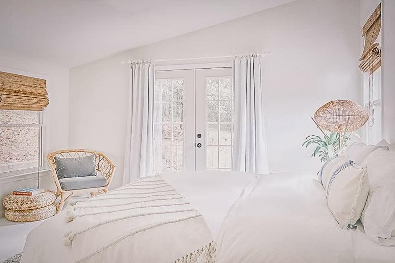 Modern and elegant master bedroom