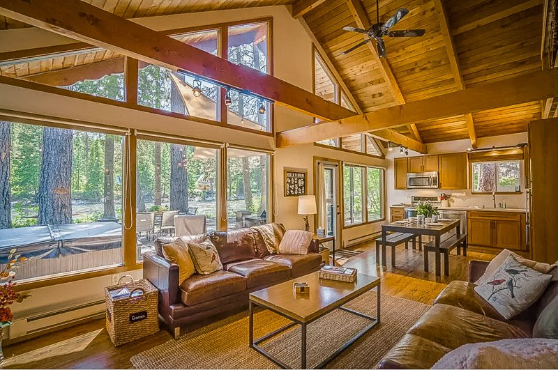 A cabin rental in Washington State like no other.