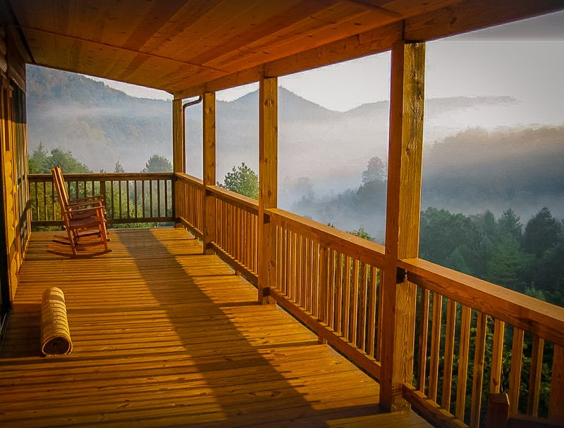 One of the dreamiest West Virginia cabins with hot tub
