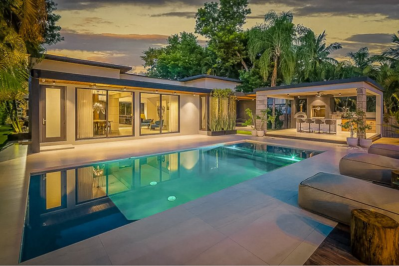 This enormous house is among the coolest luxury villas in Miami