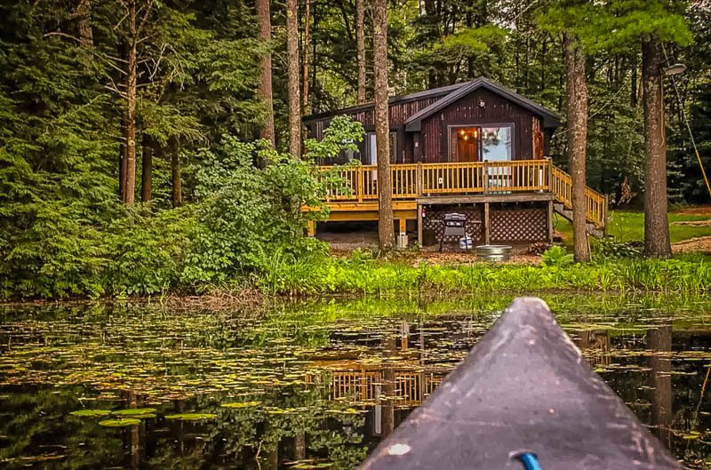 A unique lakefront vacation rental in Massachusetts
