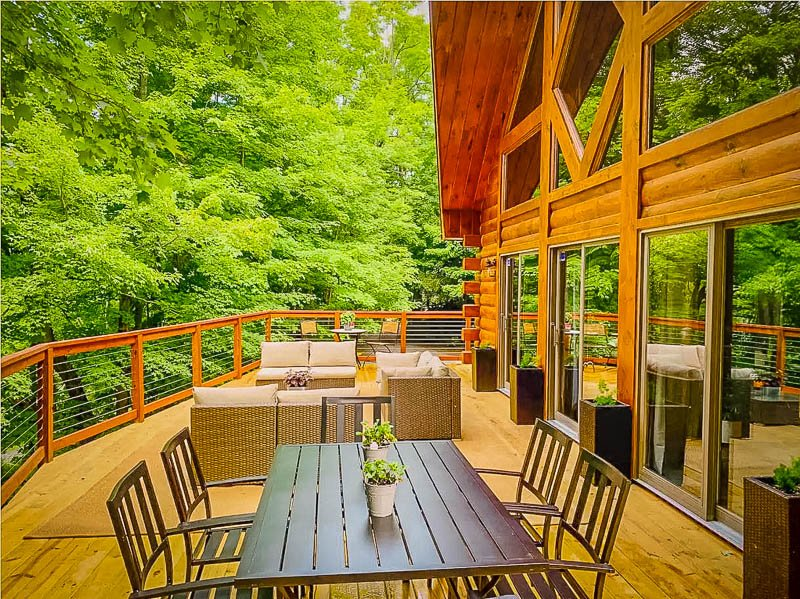 A Finger Lakes cabin rental like no other