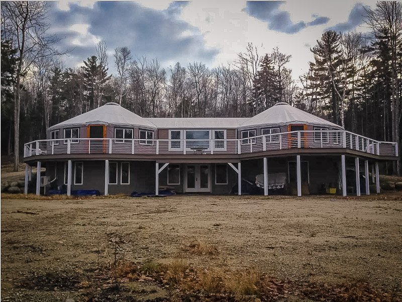 This New England vacation rental is one of the most unique rental properties imaginable