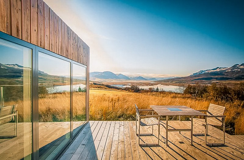This is a top Iceland home for rent that embodies the local Icelandic landscape