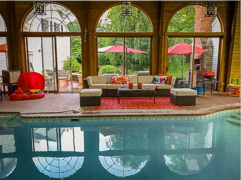 This Connecticut home is among the best vacation rentals with an indoor pool