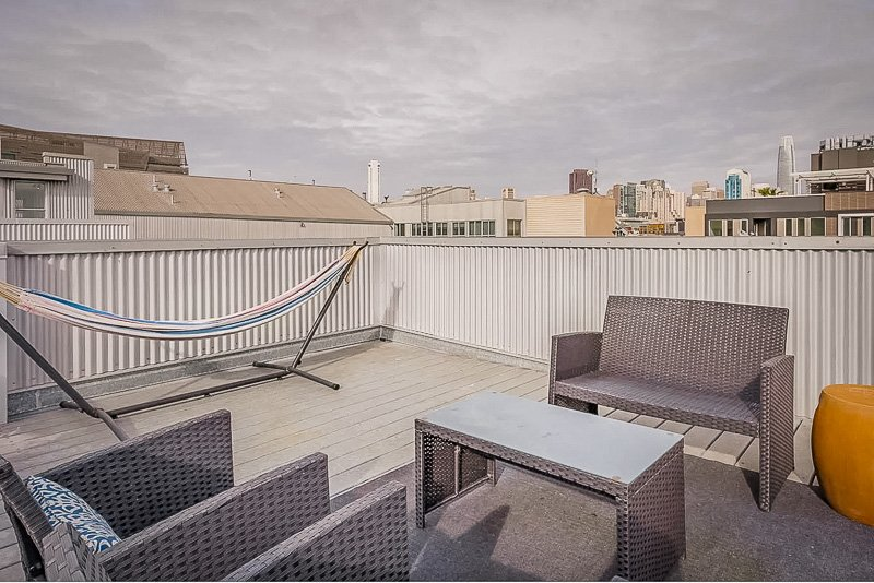 Airbnb luxe in San Francisco with amazing rooftop views