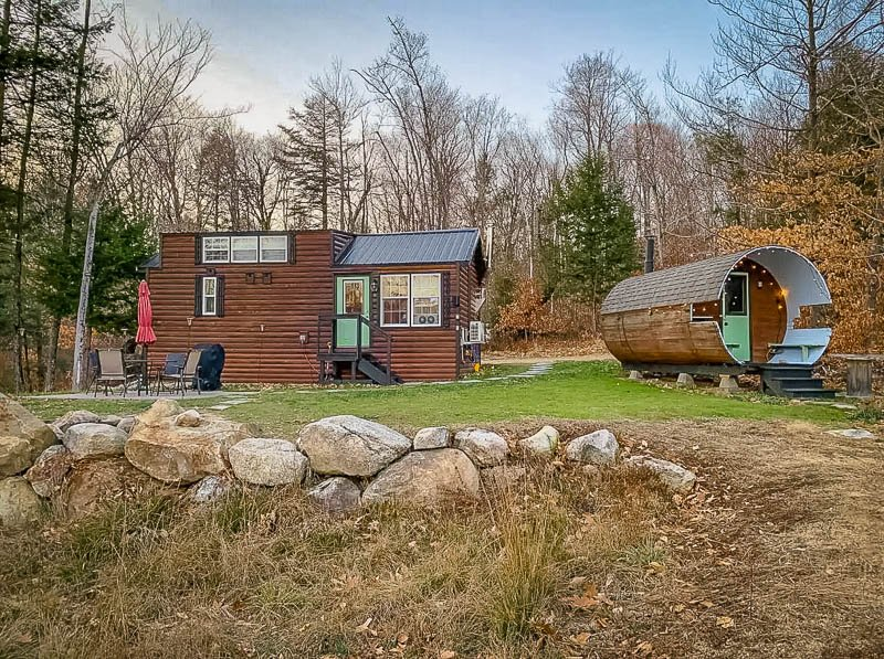 A beautiful vacation rental cabin in the White Mountains