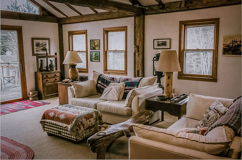This cozy property is one of the best house rental Berkshires in Massachusetts
