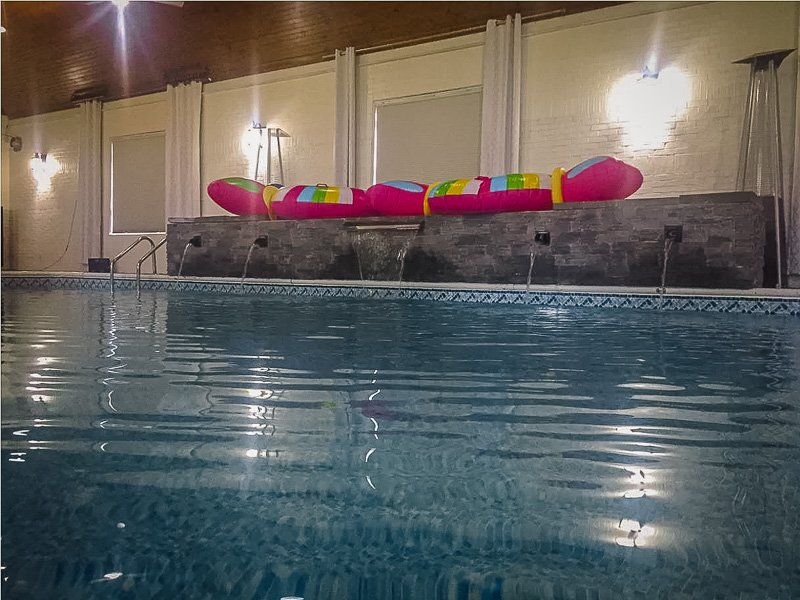 A budget-friendly house with indoor pool for rent near Chicago