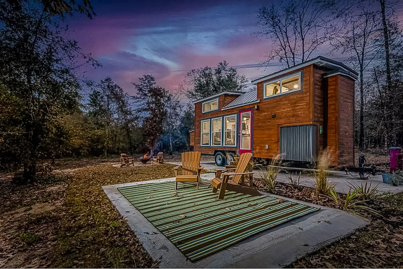 A tiny house vacation rental in the US like no other