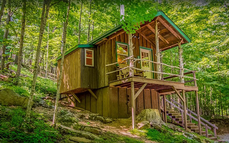 One of the coolest cheap cabins in WV