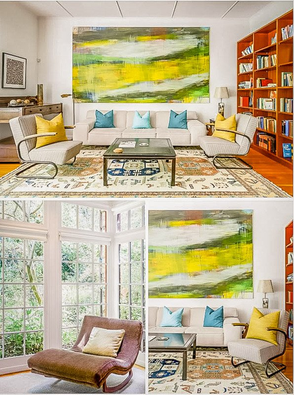 Artsy home for rent in San Francisco CA