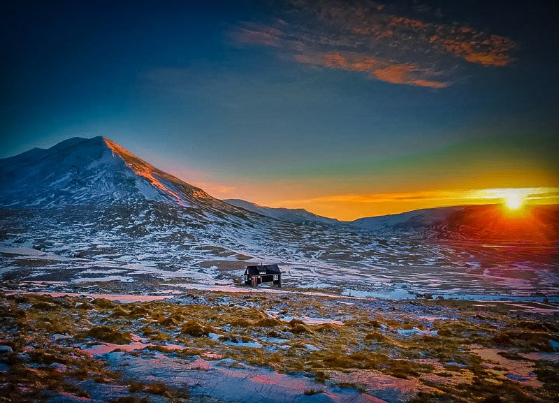 Idyllic vacation rental in Iceland