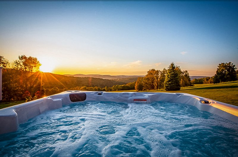 A top Pennsylvania vacation rental with a jacuzzi