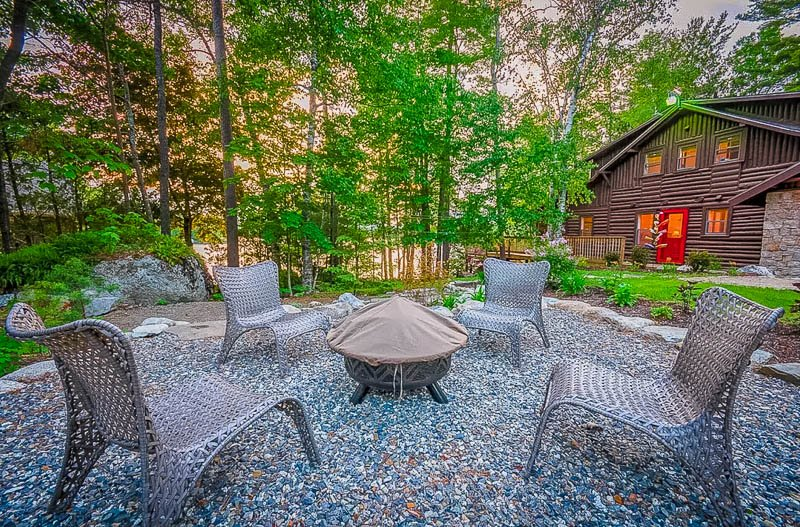 This home is among the top camping in Maine cabins.