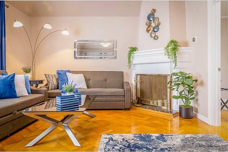 A gorgeous house rental in San Francisco