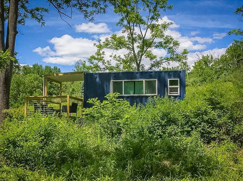 Finger Lakes tiny house in the middle of nature