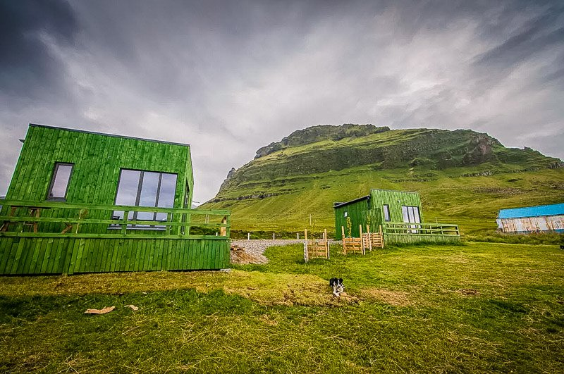 This tiny house in Iceland offers unparalleled views of the pristine country.