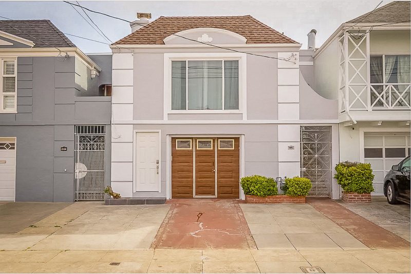 Cozy home for rent in SF