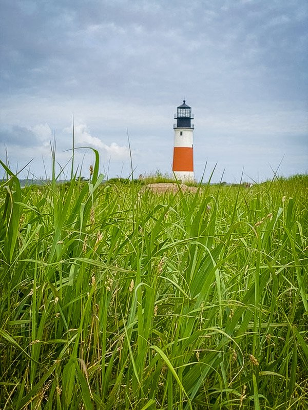 For amazing views, look no further than Sankaty Head Lighthouse in Nantucket, Mass.