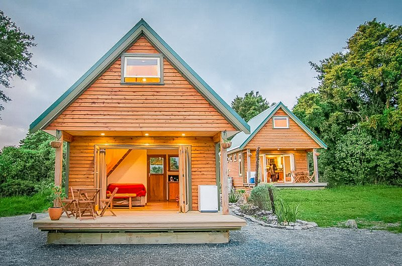 Cozy chalet for rent in New Zealand