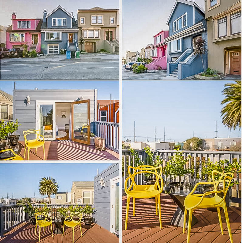 Vibrant apartment rental on VRBO with spectacular views