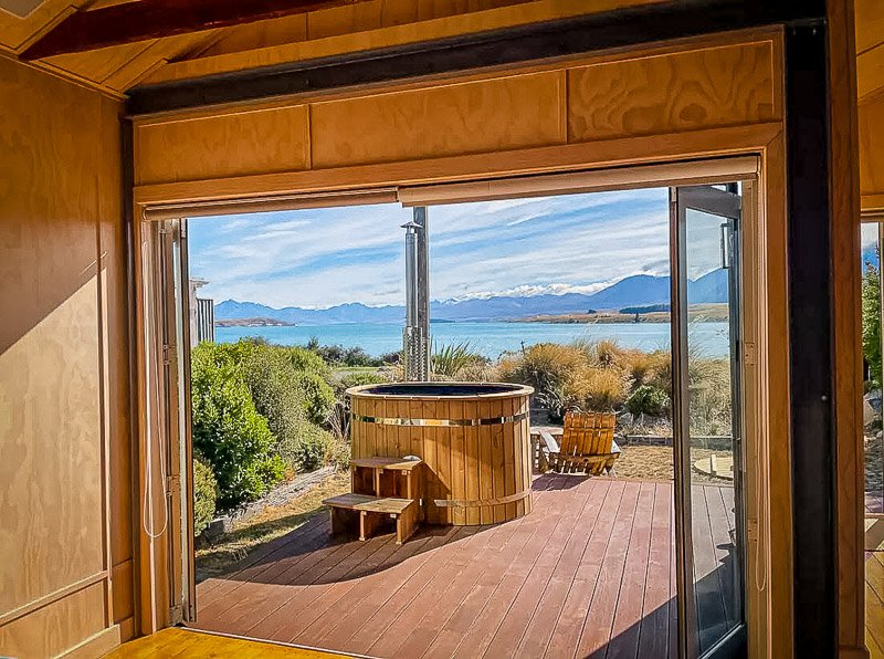 A New Zealand Airbnb that's suitable for stargazing