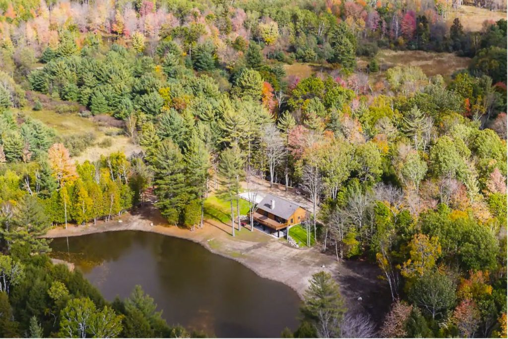 Michigan Airbnb home for rent with bowling alle
