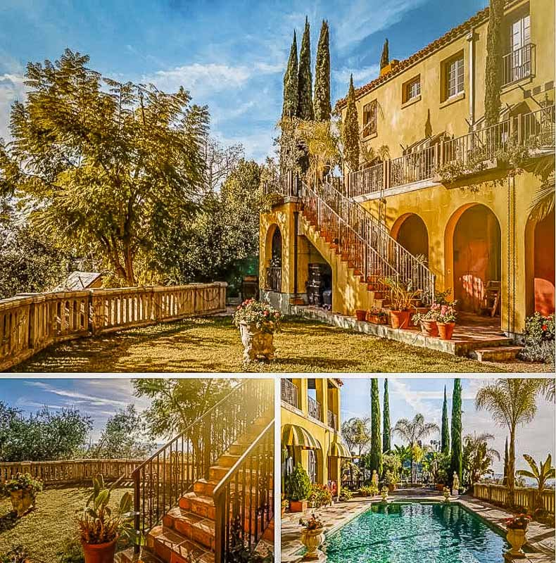 Exotic luxury villa in Southern California for romantic retreats.
