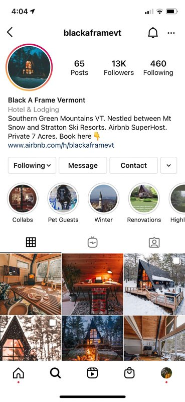 One of the best Airbnb tips for hosts is starting social media pages to promote the listing.