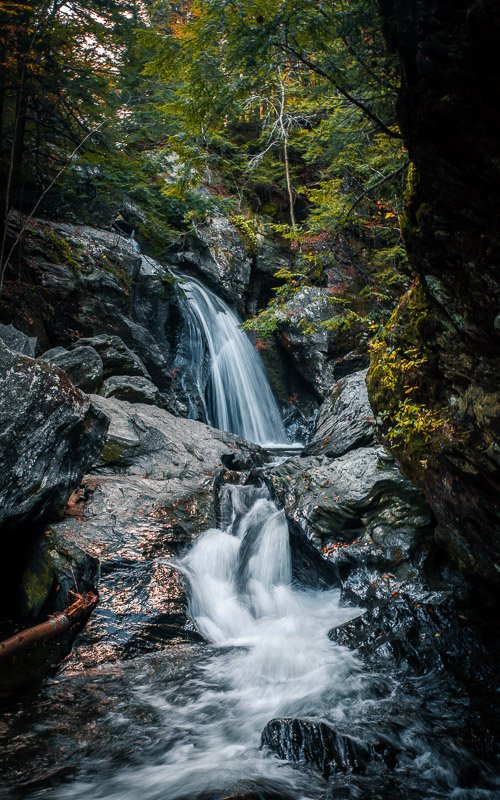 Waterfall hikes are among the coolest things to do in Vermont