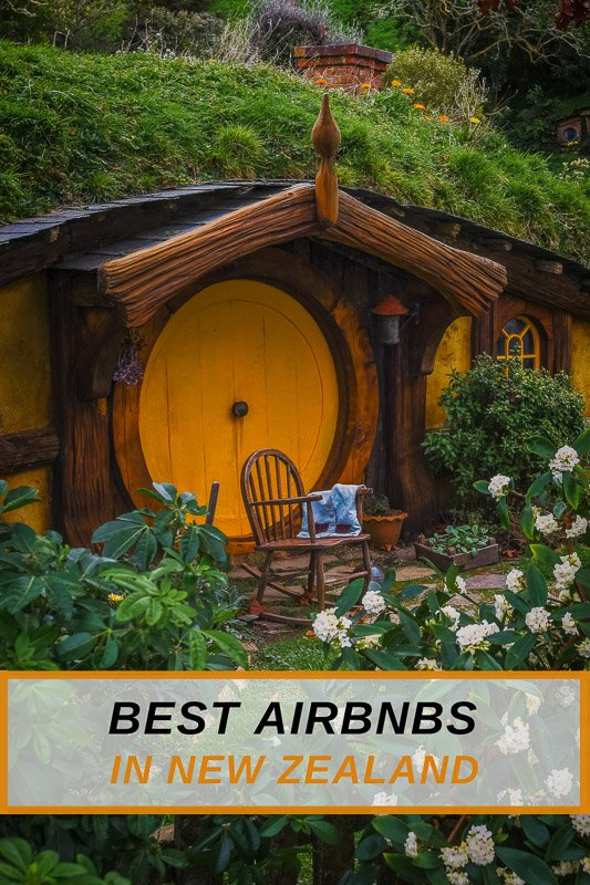 Coolest Airbnb rentals in New Zealand for all travelers