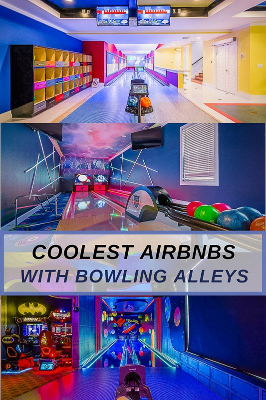 Top Airbnb rentals with private bowling alleys