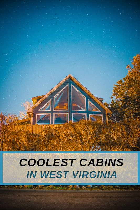 Coolest cabins for rent in West Virginia for nature lovers