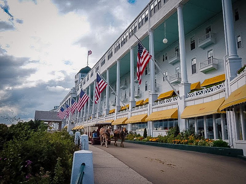 Grand Hotel on Mackinac Island.