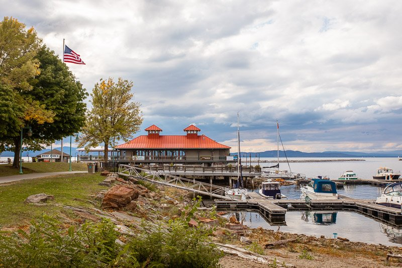 Visiting Lake Champlain is one of the top things to do in Vermont.
