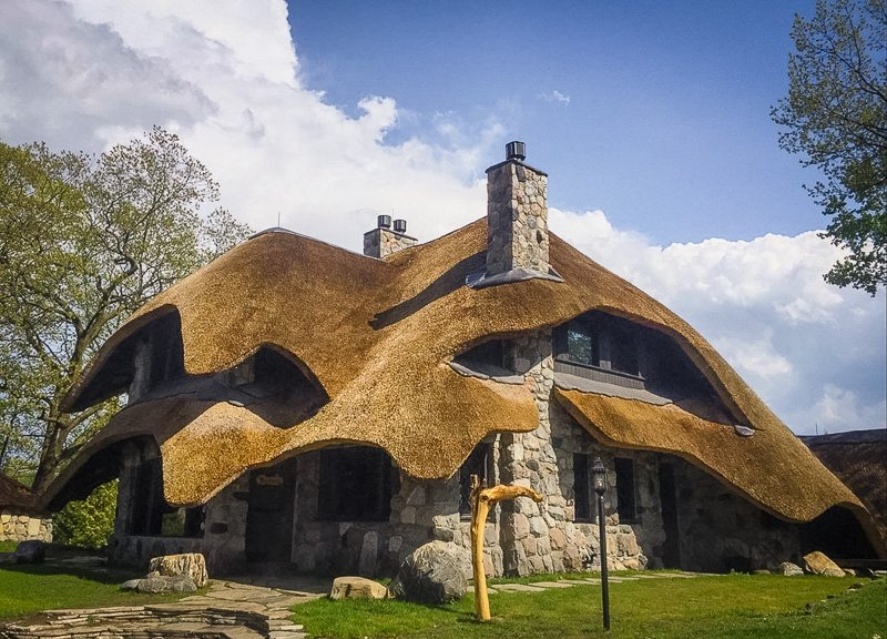 Mushroom houses are a must-see in West Michigan.