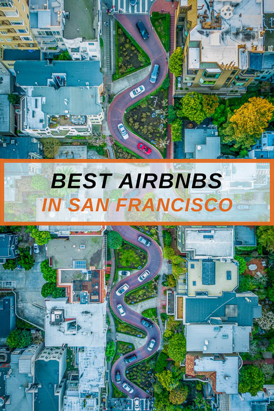 Most unique Airbnb vacation rentals in San Francisco