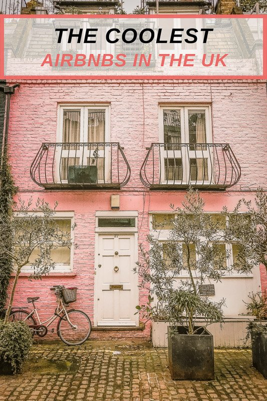 Unique Airbnbs for rent in the UK