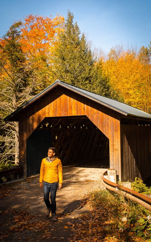 Covered bridges are a must see in Vermont.