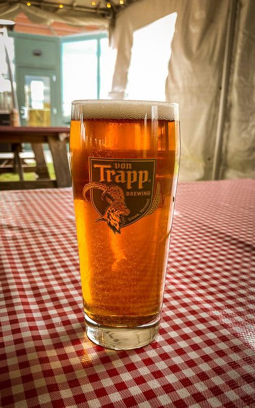 The von Trapp Brewery & Bierhall in Stowe, VT