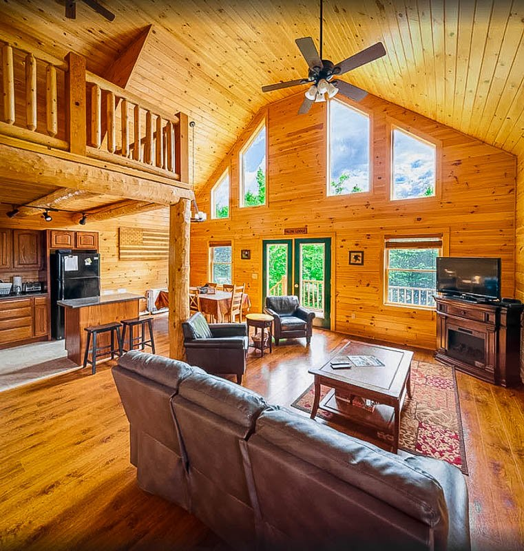 A New Hampshire cabin on Airbnb and VRBO like no other.